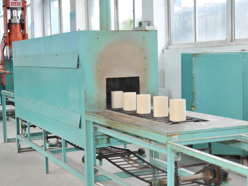 Honeycomb ceramics production photos