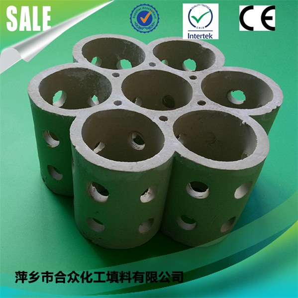 Wholesale light ceramic Link Ring Combination rings Chemical Packing 批发轻陶瓷环组合环化学包装