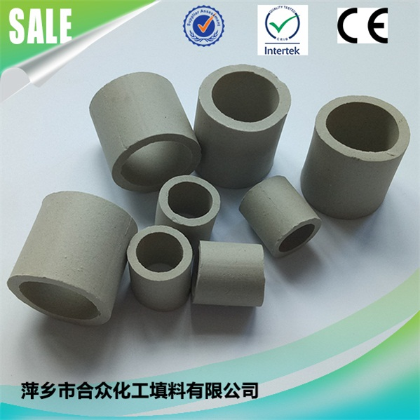 Ceramic Raschig Ring used in high or low temperature conditions 陶瓷拉西环,用于高温或低温条件下