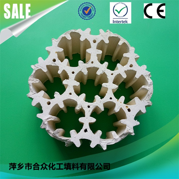陶瓷带筋七孔连环