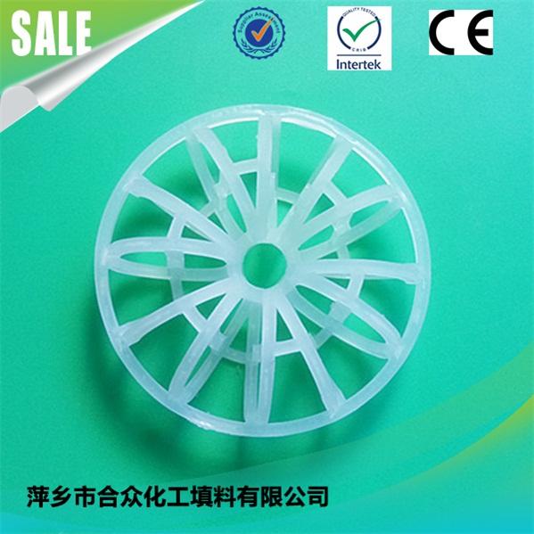 Plastic Teller Rosette Ring For Scrubber/Column/Tower Random Packing 用于洗涤器/塔/塔随机包装的塑料泰勒花环