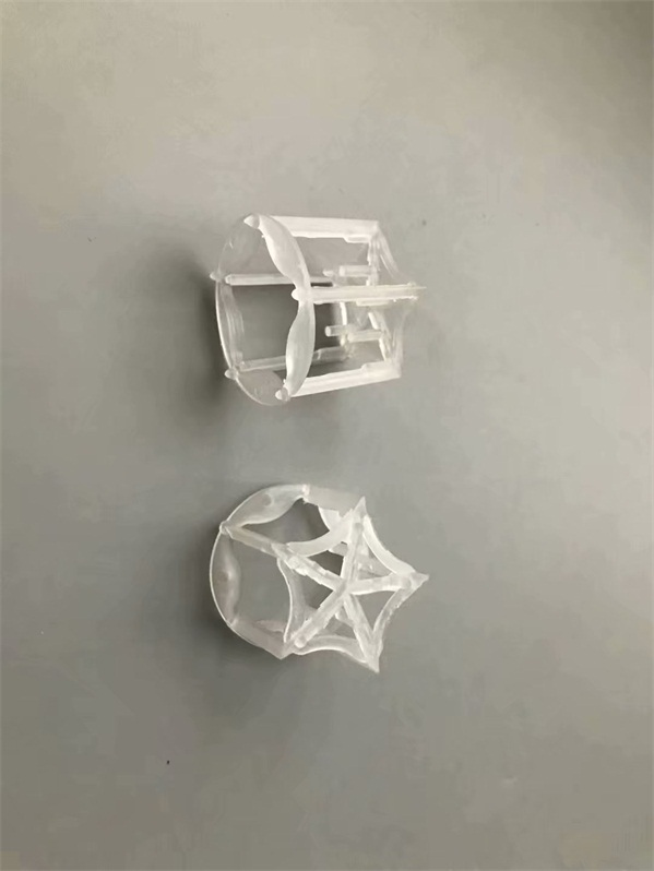 Plastic pentagon ring random tower packing (25mm, 38mm, 50mm, 76mm) 塑料五角环随机塔竞博电竞押注(25mm, 38mm, 50mm, 76mm)