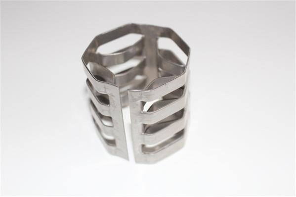 Random low pressure drop tower filler metal inner arc ring 随机低压降塔竞博电竞押注金属内弧环