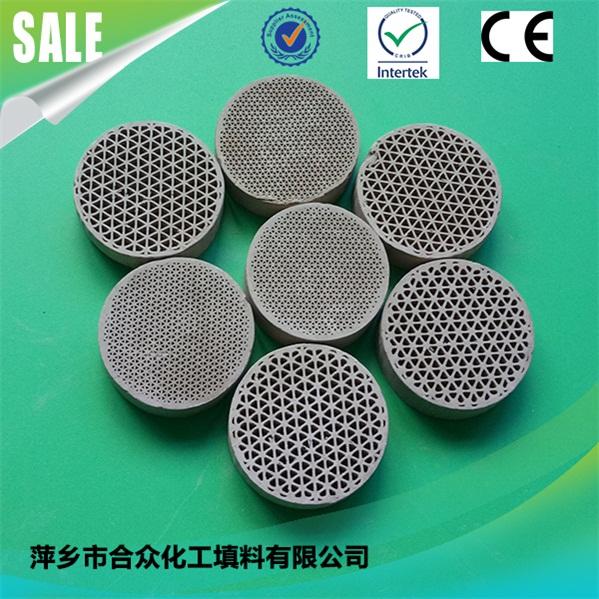 Honeycomb ceramic for RTO RCO heat exchanger, regenerator, substrate, catalyst carrier 用于RTO - RCO换热器、回热器、基材、催化剂载体的蜂窝陶瓷