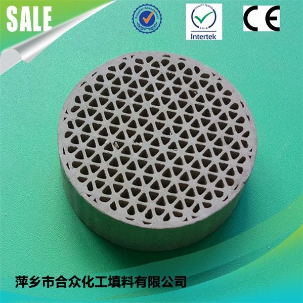 Honeycomb Ceramic Substrate catalyst support for HATC/ Thermal storage ceramic 蜂窝陶瓷基板催化剂支持HATC/蓄热陶瓷