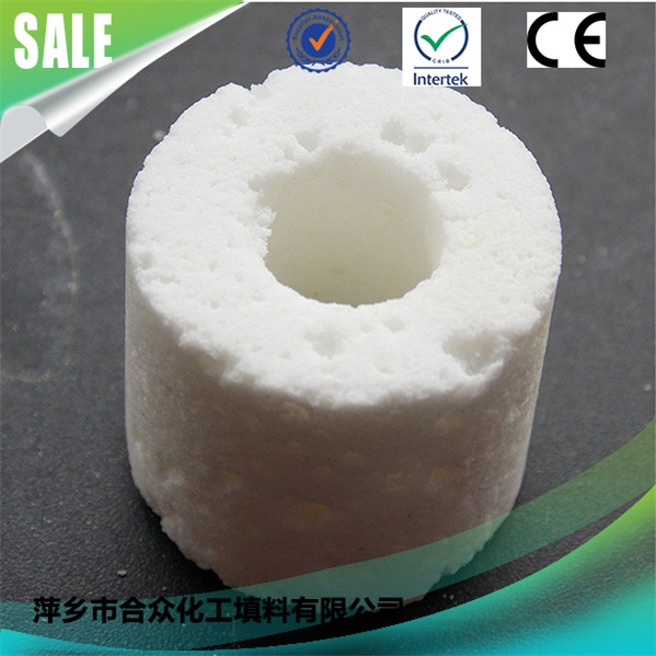 Aquarium filter media far infrared bacteria home rings filtering material ceramic bio ring 水族过滤介质远红外细菌屋环过滤材料陶瓷生物环